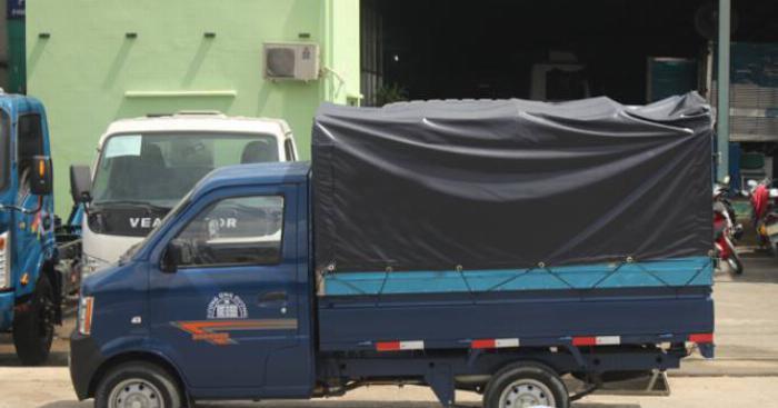 Xe tải dongben 870kg thùng lửng - trả trước 60 tr nhận được xe- hỗ trợ 80% 0