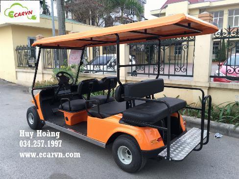 Bán xe điện chở khách club car 8 chỗ