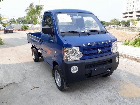 Xe tải dongben 870kg thùng lửng - trả trước 60 tr nhận được xe- hỗ trợ 80% 1