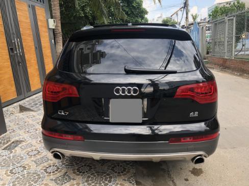 Bán Audi Q7 màu đen 2008 bản full nhé, ghé điện, cóp điện, surup mui nha 3