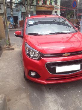 Gia đình cần bán xe Chevrolet Spark LT số sàn 2018 màu đỏ, biển tp