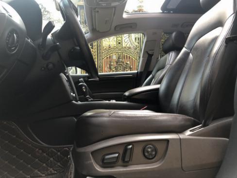 Bán Audi Q7 màu đen 2008 bản full nhé, ghé điện, cóp điện, surup mui nha 5