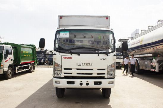 Xe tải Isuzu 8t2 thùng 7 mét đời 2018