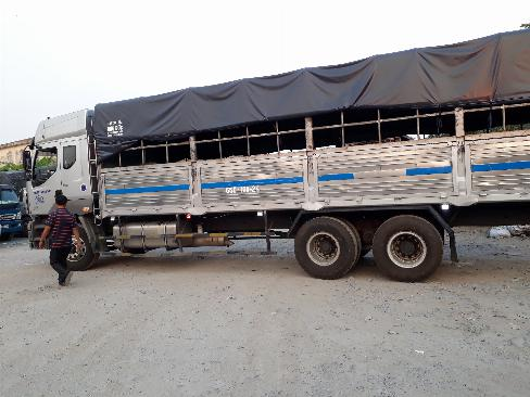 Ban xe tải chenlong 3 chan đời 2016