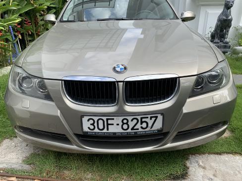 Bán BMW 320i màu vàng cát số tự động nhập 2007 lăn bánh 2008 biển Thủ Đô 1 đời chủ 6