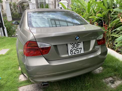 Bán BMW 320i màu vàng cát số tự động nhập 2007 lăn bánh 2008 biển Thủ Đô 1 đời chủ 1