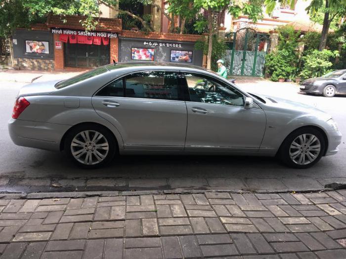 Bán Xe Mercedes S400 hybrid  Bạc 2012 at Full option nhập khẩu 0