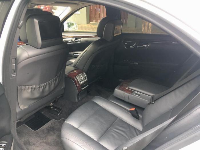 Bán Xe Mercedes S400 hybrid  Bạc 2012 at Full option nhập khẩu 4