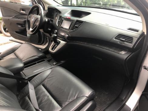 Bán Honda CRV 2015 tự động màu Bạc xe bstp chính chủ 4