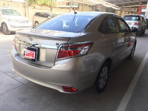 Bán xe Vios G AT đời 2014 , màu nâu vàng , xe đẹp như mới , có hổ trợ trả góp. gọi em để có giá tốt ạ
