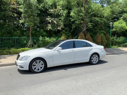Cần bán Mercedes S400 Hybrid 2012 nhập khẩu màu trắng nt kem 3