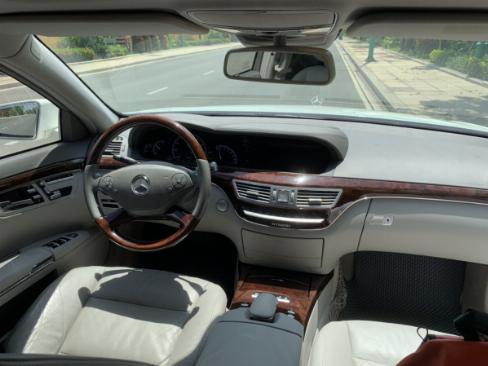 Cần bán Mercedes S400 Hybrid 2012 nhập khẩu màu trắng nt kem 4