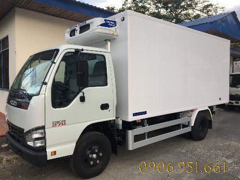 Bán xe Isuzu 1.9 tấn Thùng Đông Lạnh tặng kèm nhiều phần quà hấp dẫn