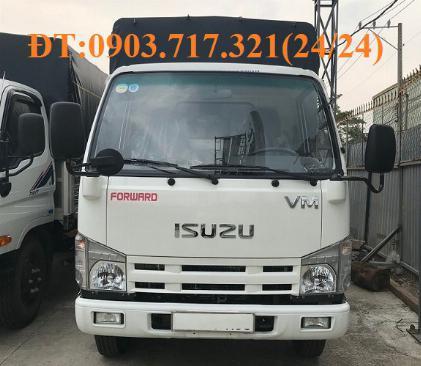 Bán xe tải Isuzu VM 1T9 (NK490SL4). giá bán xe tải Isuzu VM 1T9 thùng dài 6m2 6