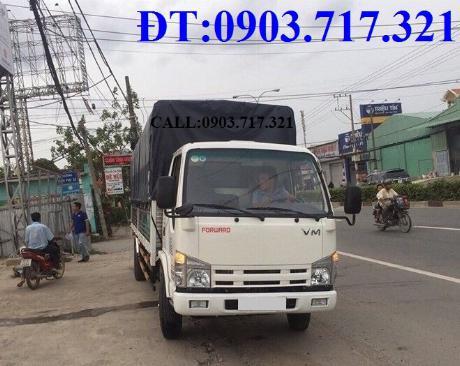 Bán xe tải Isuzu VM 1T9 (NK490SL4). giá bán xe tải Isuzu VM 1T9 thùng dài 6m2 2