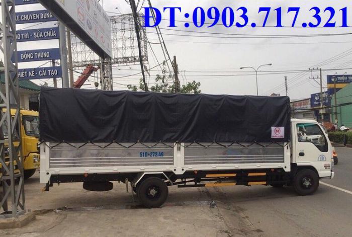 Bán xe tải Isuzu VM 1T9 (NK490SL4). giá bán xe tải Isuzu VM 1T9 thùng dài 6m2 7