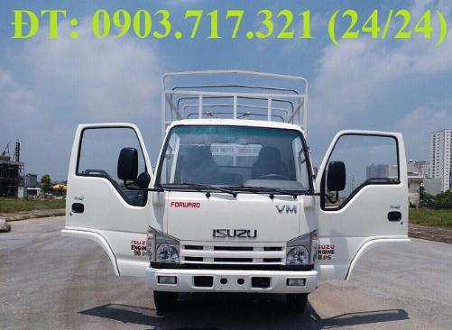 Bán xe tải Isuzu VM 1T9 (NK490SL4). giá bán xe tải Isuzu VM 1T9 thùng dài 6m2 4