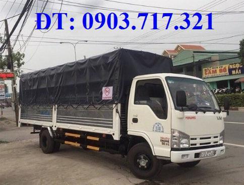 Bán xe tải Isuzu VM 1T9 (NK490SL4). giá bán xe tải Isuzu VM 1T9 thùng dài 6m2 5