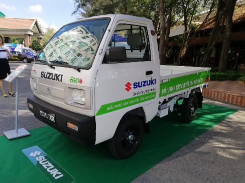 Suzuki Carry truck thùng lững 645kg 0