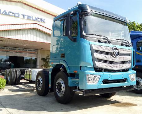Xe tải 4 giò THACO AUMAN C300.E4 - TẢI 16,8 TẤN - động cơ CUMMINS - thùng 9,5m - LH 0938 808 946 2