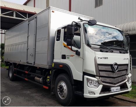 xe tải THACO AUMAN cabin mới - tải 9 tấn - trang bị cảm biến lùi xe - động cơ CUMMINS 1