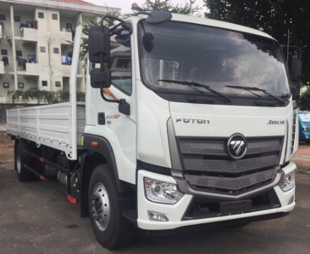 xe tải THACO AUMAN cabin mới - tải 9 tấn - trang bị cảm biến lùi xe - động cơ CUMMINS 3