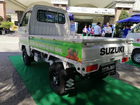 Bán xe Suzuki Truck thùng lững 645kg trả góp tại Cần Thơ 2