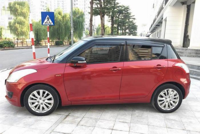 Bán gấp Suzuki Swift 2016 Đỏ bản full đầy đủ chức năng