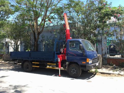 Xe Hyundai Gắn Cẩu UNIC 3 Tấn - Thanh Lý - Trả Góp 90%