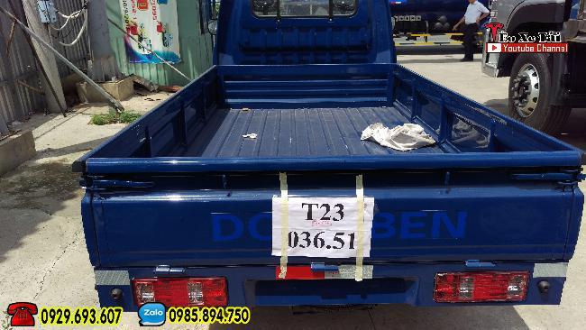 Dongben 500kg. Dongben thùng lững, có trợ lực lái, kính điện dời 2018 1