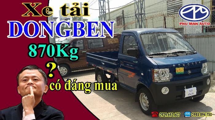 Dongben 500kg. Dongben thùng lững, có trợ lực lái, kính điện dời 2018 4