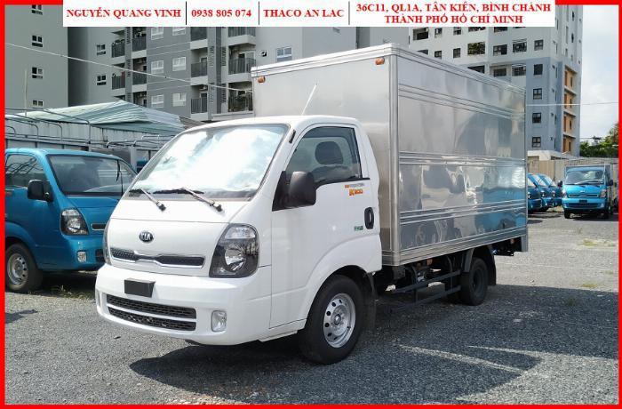 Xe tải Kia K200, 2019, Tải trọng 1,95 tấn, Thay thế K2700 mắt mèo
