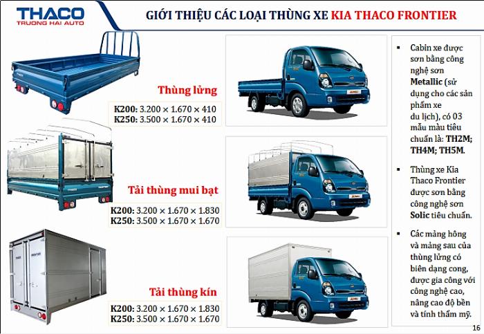 Xe tải Kia K200, 2019, Tải trọng 1,95 tấn, Thay thế K2700 mắt mèo 7
