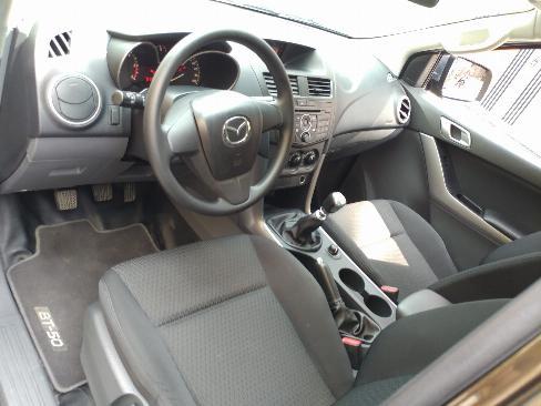 Bán Mazda BT50 Xám 2018 số sàn máy dầu, hai cầu xe rất mới. 4