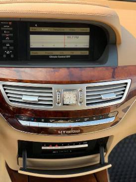 Bán xe Mercedes S400 2012 màu nâu cafe bản xăng điện (hybrid) nhập Đức 3