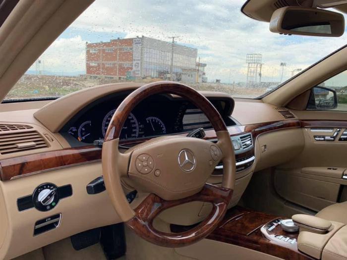 Bán xe Mercedes S400 2012 màu nâu cafe bản xăng điện (hybrid) nhập Đức 7