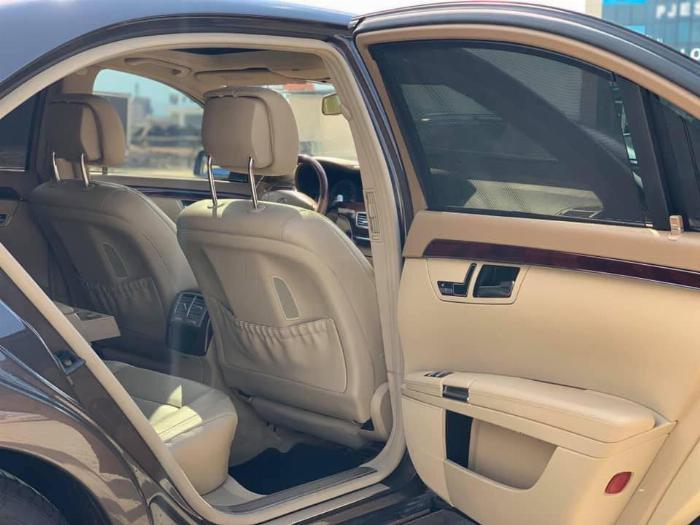 Bán xe Mercedes S400 2012 màu nâu cafe bản xăng điện (hybrid) nhập Đức 8