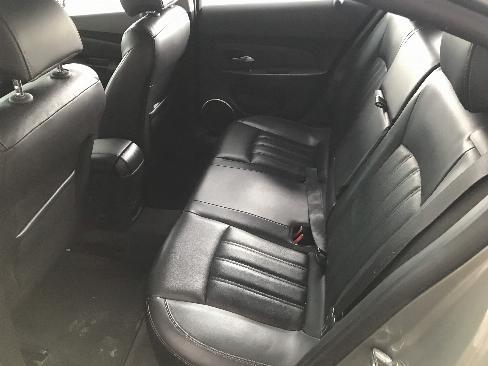 Bán Chevrolet Cruze LTZ 1.8AT màu xám chuột số tự động sản xuất 2017 mẫu mới biển SG đi 17000km 2