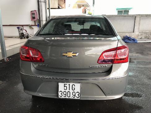 Bán Chevrolet Cruze LTZ 1.8AT màu xám chuột số tự động sản xuất 2017 mẫu mới biển SG đi 17000km 5