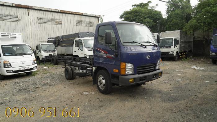 Bán trả góp xe tải Hyundai 2T5 thùng 4m3 , Hyundai N250SL trả góp