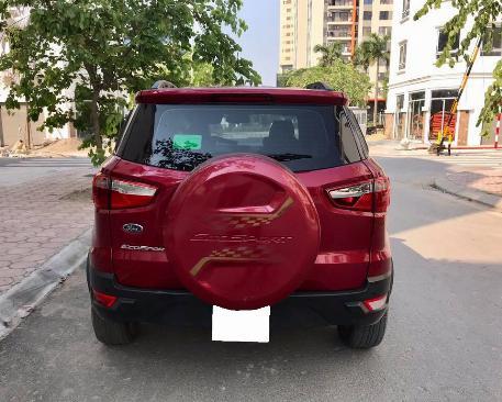 Cần bán gấp Ford EcoSport 2016 số sàn màu đỏ chính chủ.