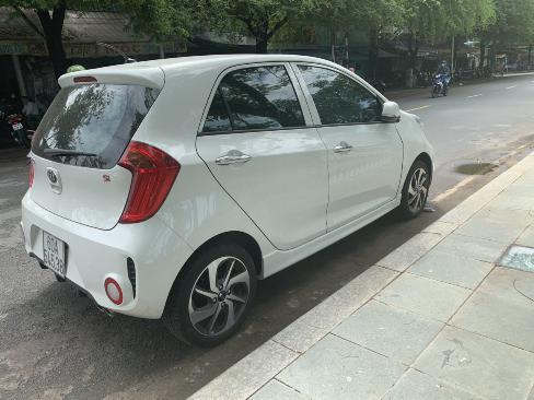 Bán Kia Morning Si 1.25MT màu trắng số sàn sản xuất 2018 mẫu 2019 mới nhất đi 500km 4