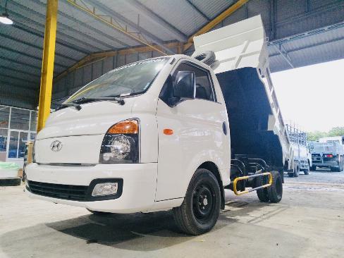 Xe tải BEN tự đổ HYUNDAI H150 tải 1.5 tấn (1,55 khối) - Trả Góp