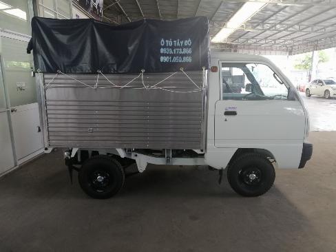 Bán trả góp xe suzuki carry truck thùng mui bạt 600kg 0