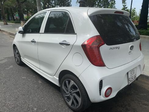Bán Kia Morning Si 1.25MT màu trắng số sàn sản xuất 2018 mẫu 2019 mới nhất đi 500km 6