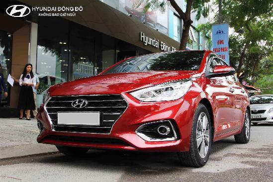 Hyundai Accent 2019 1.4AT Xe có sẵn đủ màu giao ngay!