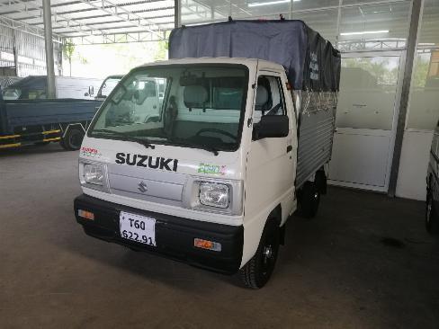 Bán trả góp xe suzuki carry truck thùng mui bạt 600kg 1
