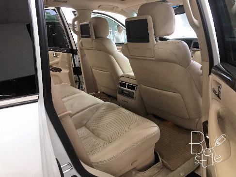Bán Lexus LX570 sản xuất 2013,đăng ký 2014 màu trắng, nội thất kem, 10