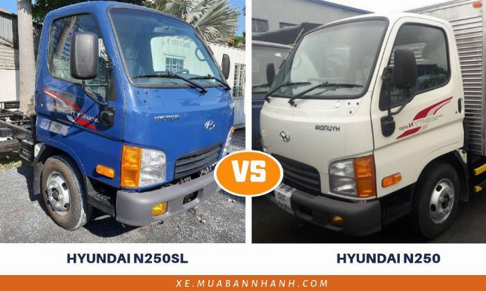 So sánh Hyundai N250SL với Hyundai N250