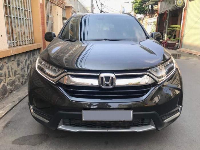 Bán Honda Crv 2018 tự động dòng E xám đen chỉnh chủ đi kỹ